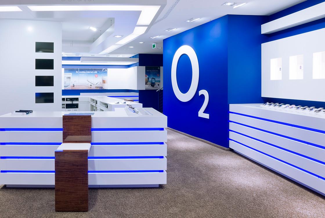 Marke: Retaildesign o2 Flagshipstore in Berlin