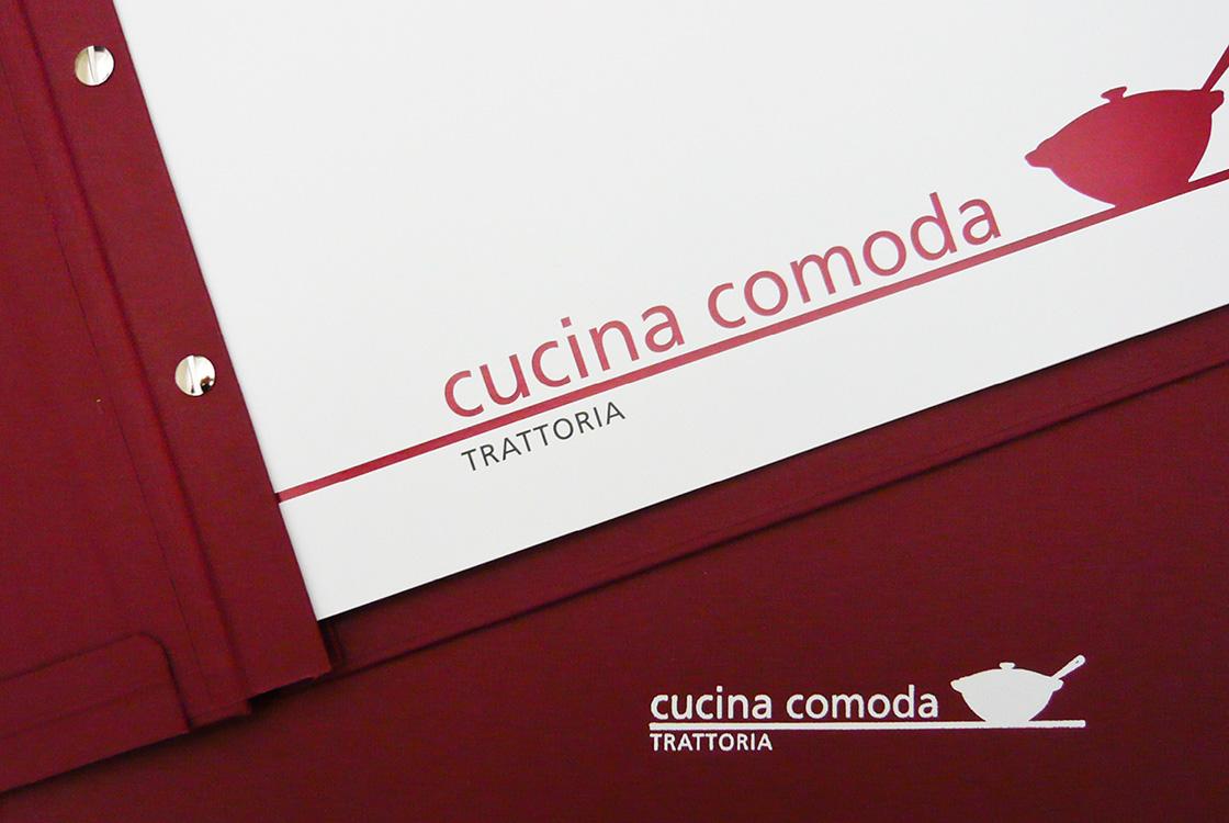 Gastronomiedesign: Restaurant Cucina Comoda in Berlin