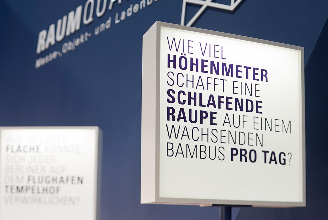Marke: Messeauftritt Raumquadrat Euroshop Düsseldorf