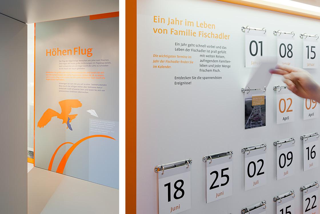 Ausstellungsgestaltung: Wasser . Ufer . Luft Naturlandschaft Groß Schauener Seen Heinz Sielmann Stiftung