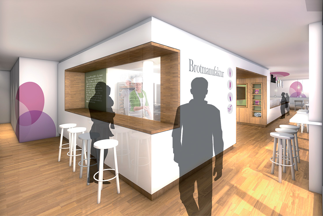 Gastronomiedesign: Markenentwicklung Brot+ Wolfsburg 03