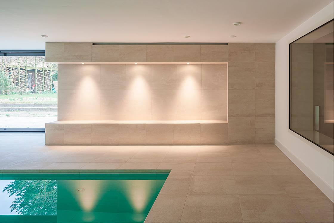 Architektur und Raum: Modernisierung Privates Schwimmbad