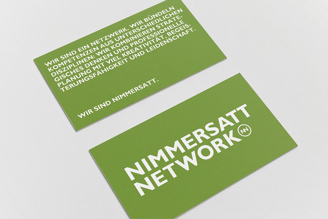 Markenentwicklung: Auftritt interdisziplinäres Netzwerk Nimmersatt Network 02