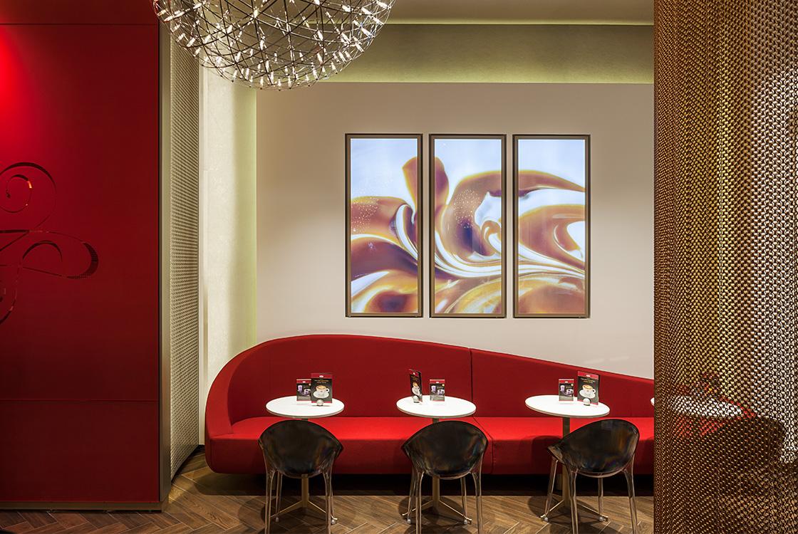 Gastronomiedesign: Häagen-Dazs Flagshipstore Berlin Hackescher Markt