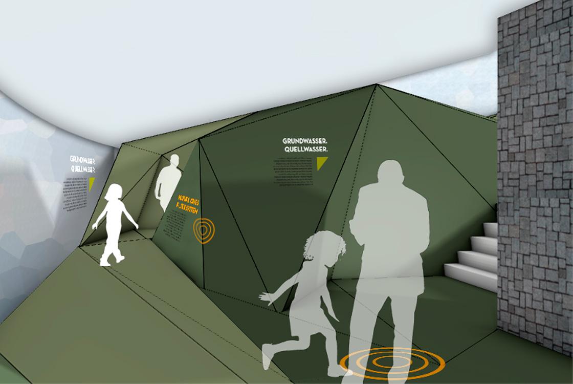 Ausstellungsgestaltung: Vulkaneum Schotten