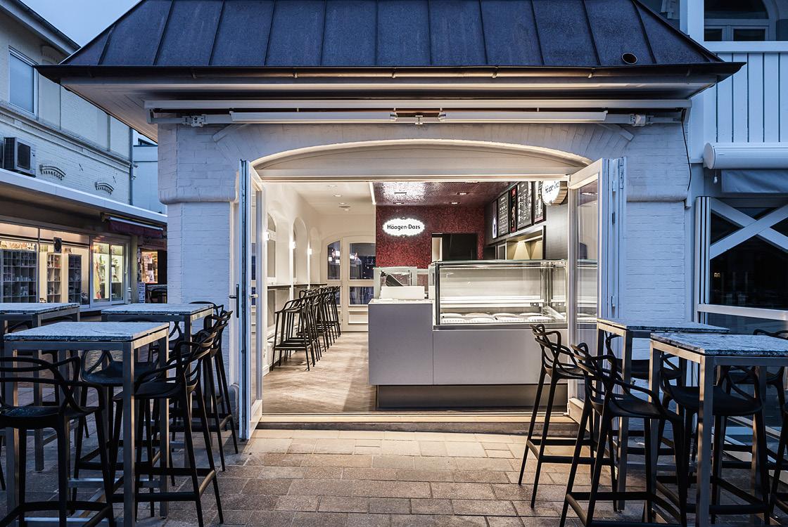 Gastronomiedesign: Häagen-Dazs Shopdesign in Westerland Sylt 03