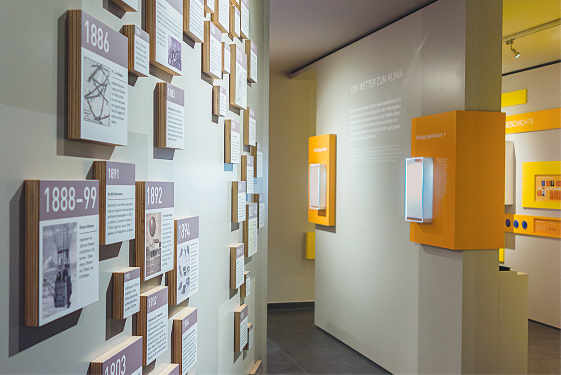 Ausstellungsgestaltung: Wettermuseum Lindenberg 014