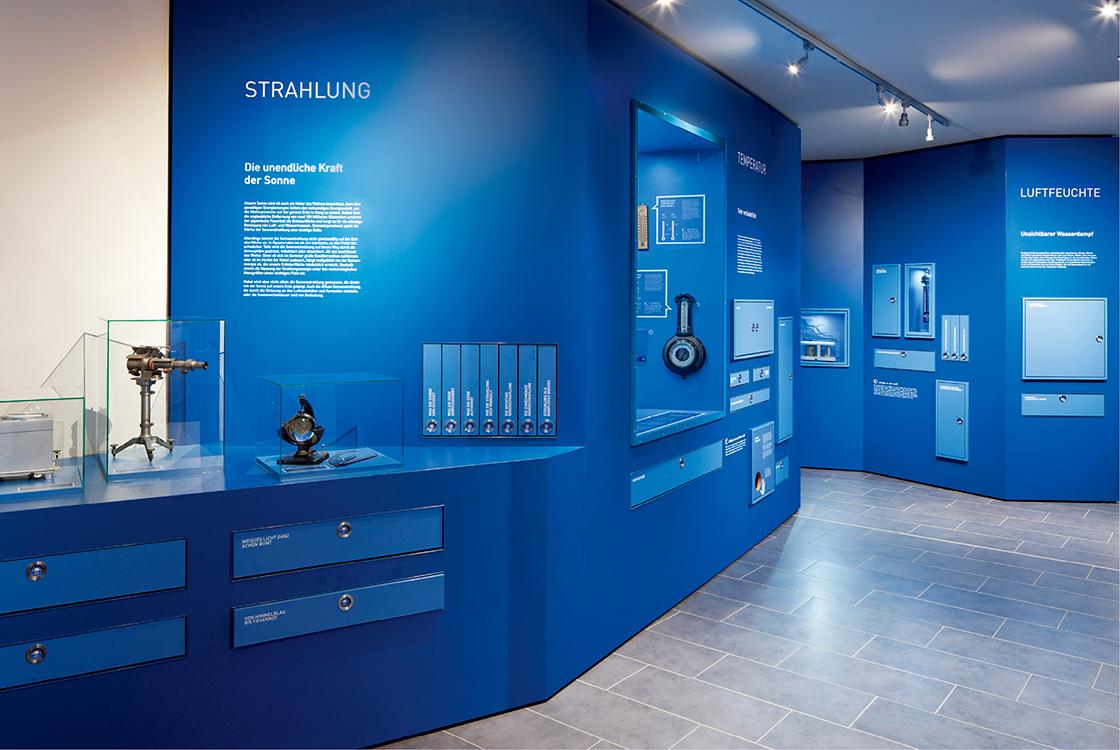 Ausstellungsgestaltung: Wettermuseum Lindenberg 04