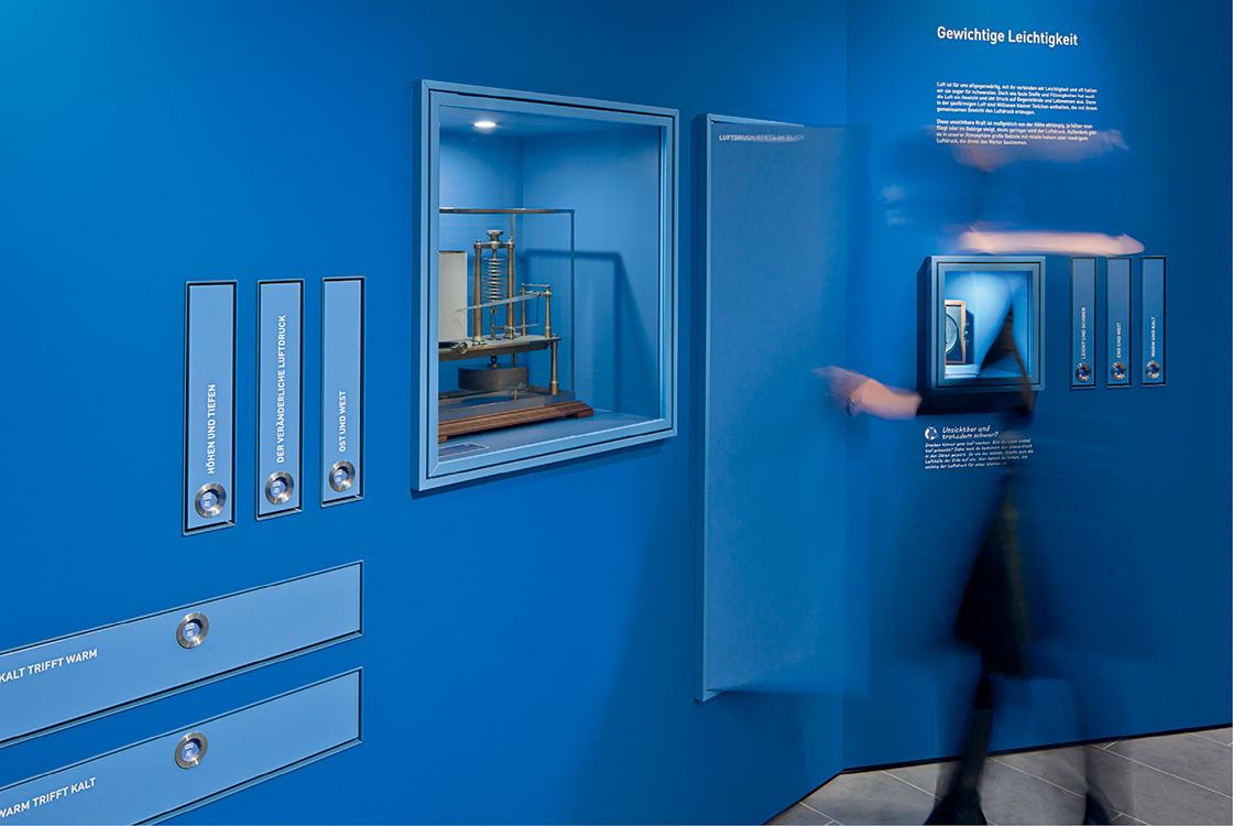 Ausstellungsgestaltung: Wettermuseum Lindenberg 06