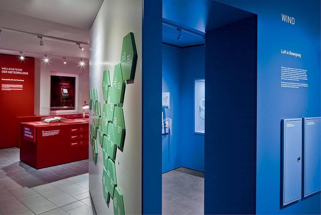 Ausstellungsgestaltung: Wettermuseum Lindenberg 08