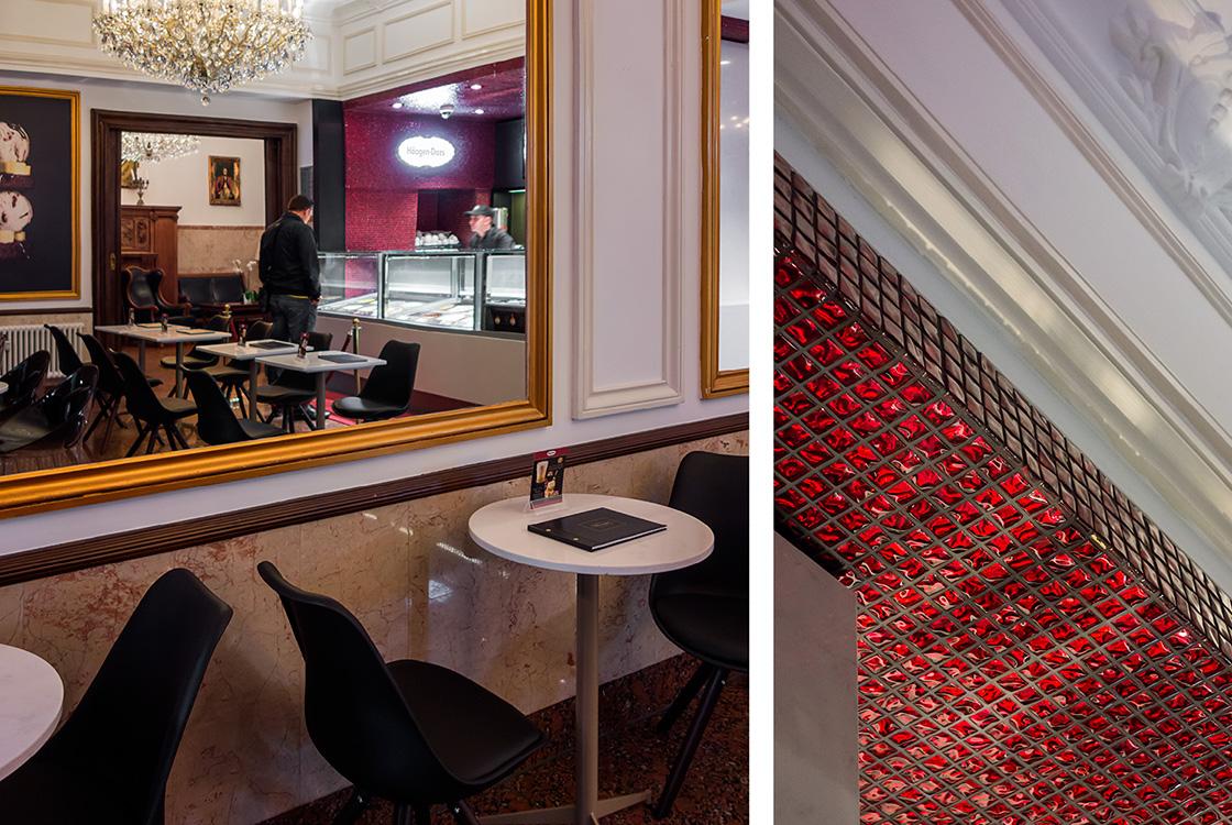 Gastronomiedesign: Häagen-Dazs Shopdesign in Berlin 01