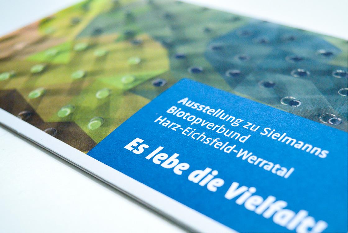 Grafik und Kommunikation: Infoflyer Heinz Sielmann Stiftung Gut Herbigshagen 01