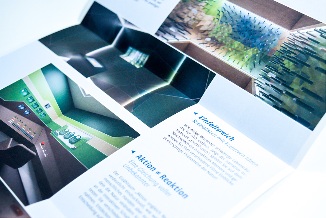Grafik und Kommunikation: Infoflyer Heinz Sielmann Stiftung Gut Herbigshagen 04