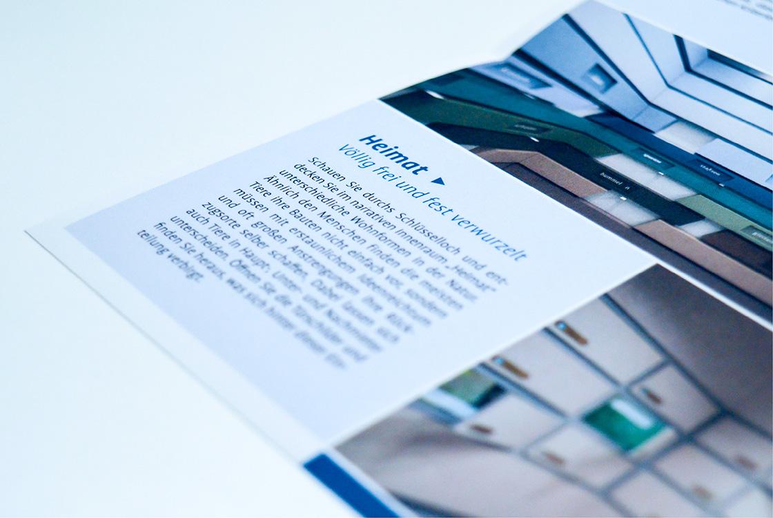 Grafik und Kommunikation: Infoflyer Heinz Sielmann Stiftung Gut Herbigshagen 05