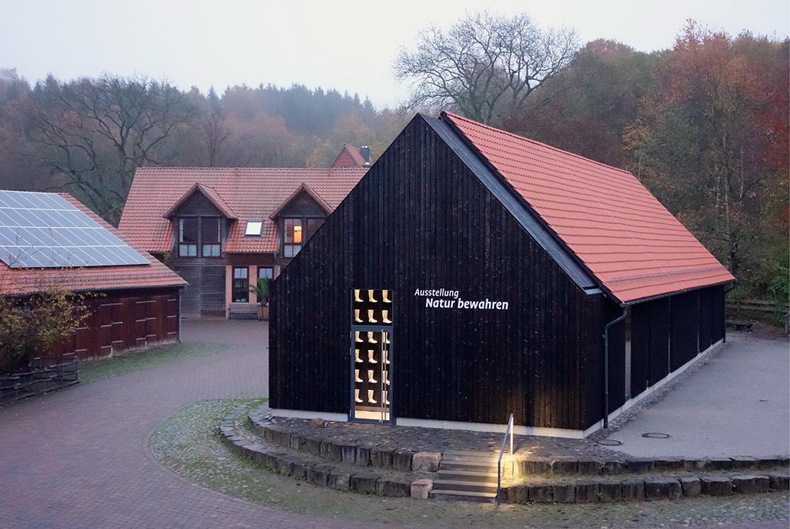 Architektur und Raum: Gut Herbigshagen Heinz Sielmann Stiftung 01