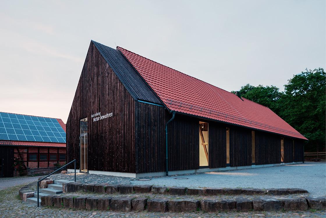 Architektur und Raum: Gut Herbigshagen Heinz Sielmann Stiftung 05