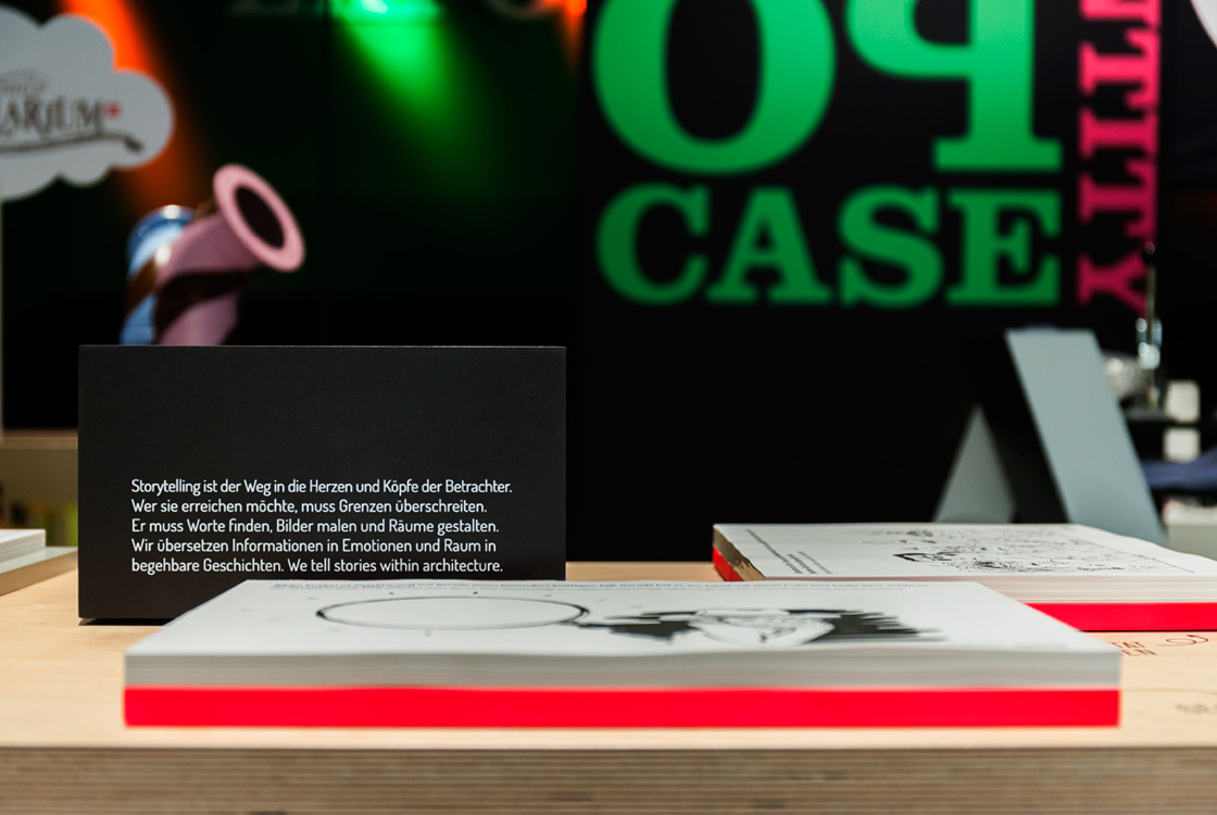 Ausstellungsgestaltung: Expocase 2015 Exponatec Köln 10