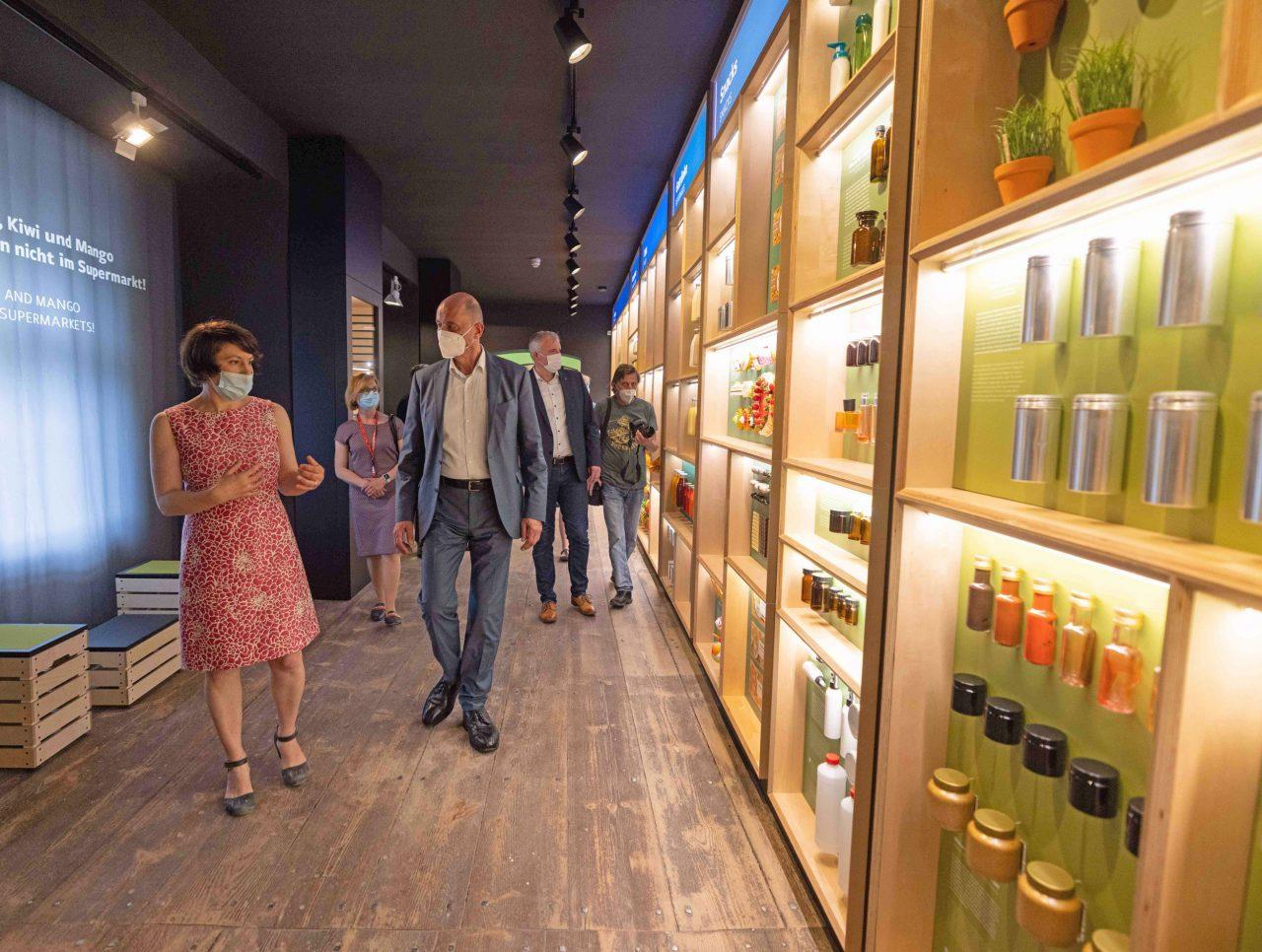Eröffnung Deutsches Gartenbaumuseum Erfurt mit Wolfgang Tiefensee